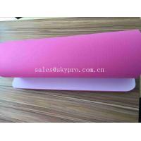 5mm Pink High - technology Smooth Exercise Mat Custom Screen Printing Yoga Mats