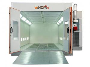 China 7.5KW Exhaust Turbo Fan Downdraft car Spray Booth For Automobile Painting, Maintenance WD-60A on sale