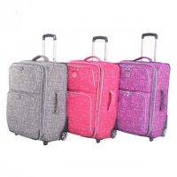 China Good quality traveling trunk,trolley case box,Luggage set,traveling rod box ,wheels cases on sale