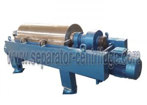 China Strong Power Decanter Centrifuges Continuous Centrifuge For Waste Water Plant on sale