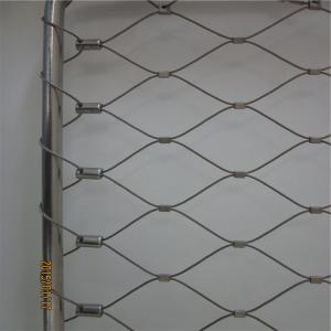 China Custom made inox cable mesh to suit your balustrade, railing or architectural application on sale