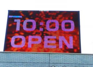 China Aluminum P8 IP68 Outdoor LED Advertising Screens RGG SMD 3 In 1 High Contrast on sale