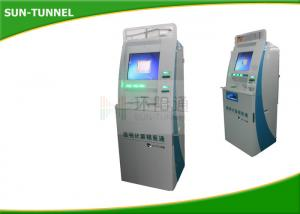 "China 15"" Industrial Touch Screen Information Kiosk For Payment / Data Capture on sale"