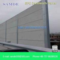 China Eco friendly graceful waterproof outside cement eps sandwich wall panel on sale