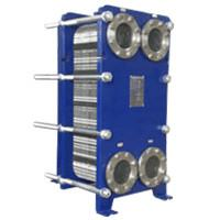 China High Transfer Efficiency Stainless Steel Plate Heat Exchanger / Chiller Accessories With Different Heat Exchange Area on sale