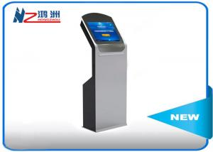 China Free stand social media lobby kiosk for ticketing dispenser and payment on sale