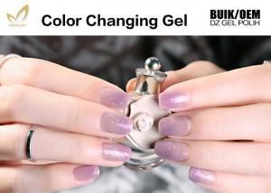 China Healthy Thermal Mood Changing Gel Nail Polish Changes Colour With Temperature on sale