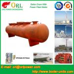 Waste Heat Recovery Boiler Mud Drum Natural Circulation / Once Through Type