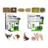 China Catlle / Goat Pellet Making Machine , Ring Die Animal Feed Granulator on sale