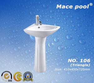 China Wash Basin Pedestal Basin Type for Bathroom Accessories  (106) on sale