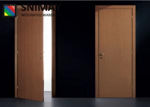Quality Romania Standard Wooden Interior Doors Inside For House