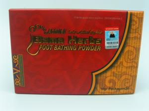 China Bama Herbs Original Plant Foot Wash Powder For Body Pain &foot Odor  Foot peeling  Athlete's foot on sale