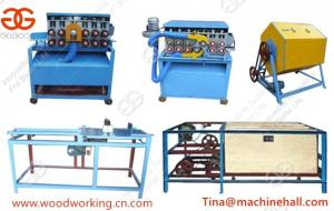 China Hot Selling Commerical Automatic Wood Ice Cream Stick Making Machine Line High Effiency on sale