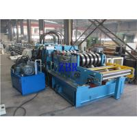 SGS CZ Purlin Roll Forming Machine Dual Holes Punching 11 MPa Work Pressure