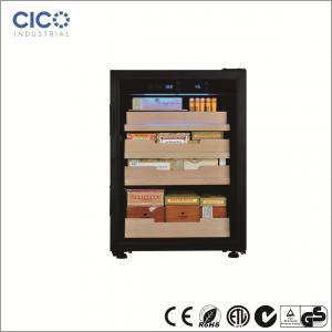 China Lightweight Cigar Humidor Cabinet , Cigar Humidor And Wine Cabinet on sale
