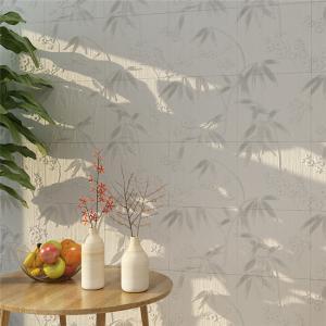China Sound Absorbent Self Adhesive Wall Panels Wood Pattern , Waterproof Decor Tv Wall Panel on sale