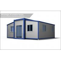 China Prefabricated Contemporary Container Homes With EPS Sandwich Panel 5650mm*6508mm*2800mm on sale