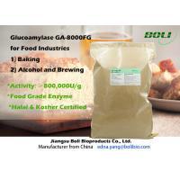 High Efficient Glucoamylase Hydrolytic Enzymes , Amyloglucosidase Enzyme For Baking