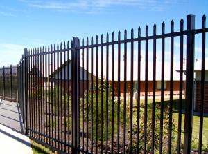 China Australia Security Commerical Garrison Fence Panel galvanised steel palisade fencing on sale