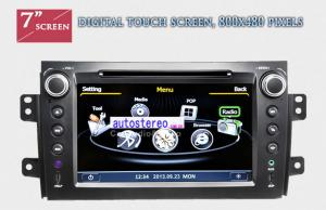 China Suzuki SX4 Japanese Car Stereo GPS Navigation Multimedia Sat Nav on sale
