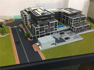 China Abs and acrylic table display 3d scale house model for apartment on sale