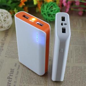 China Power bank white LED mobile charger 7800 phone battery high quality from Parbeson on sale