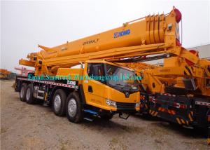 China Diesel XCMG Truck Crane QY35K5 / Telescopic Hydraulic Crane With 36930kg Payload on sale