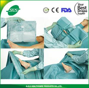 China Impervious diposable nonwoven sterile Extremity drape pack use in hospital on sale