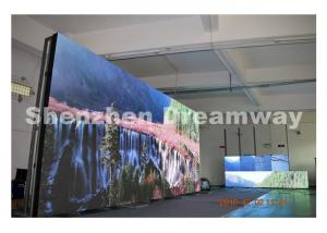 China SMD2727 PH6 IP65 Outdoor Full Color LED Display Watereproof 7000 CD / m2 supplier