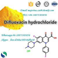 China Difluoxacin Hydrochloride/Veterinary Drugs/API CAS 91296-86-5 on sale