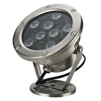 IP68 Waterproof Round LED Underwater Lights RA85 60° Fountain Pool Lamp