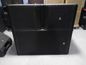 Line Array Speaker@Dual 12inch Outdoor Music Events Powerful Line
