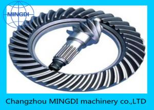 China Heat Treatment  Differential Spiral Bevel Gear Assembly For Vehicle ROSH CE ISO on sale