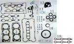 Sistema completo de G6CU para la junta 20910-39D00 50314000 del motor de HYUNDAI