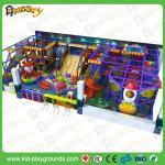 Calidad excelente con el sistema plástico del juego de la diapositiva de los niños del certificado del CE, el mejor centro de juegos interior