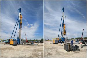 China OEM Pile Hammer Equipment For High Productivity Pile Driver Foundation on sale