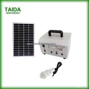 China Portable Solar Home System 20watt on sale