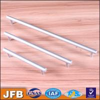 China CNC aluminium anodized profile/anodizing aluminium drawerhandle with screw holes on sale