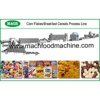 Fully Automatic Breakfast Cereal Corn Flakes Machine Production Line