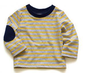 China T-shirts rayés de garçons de coton, vêtements de coton pour des bébés de 2 ans on sale