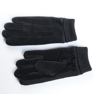 China Women 100% Real pig suede Leather Gloves,Five Finger suede leather Gloves on sale