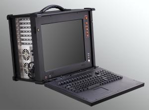 China 15 High Brightness TFT LCD Rugged Notebook Computers / Portable Industrial Computers on sale