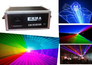 China 6w RGB full color animation laser light /  laser show machine / outdoor laser projector on sale