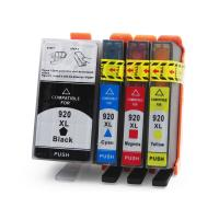 HP Compatible Printer Ink Cartridges , Cyan / Yellow Ink Print Cartridges
