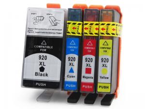 China HP Compatible Printer Ink Cartridges , Cyan / Yellow Ink Print Cartridges on sale