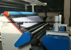 China High Performance Fabric Winding Machine For Quilting / Curtains Industry on sale