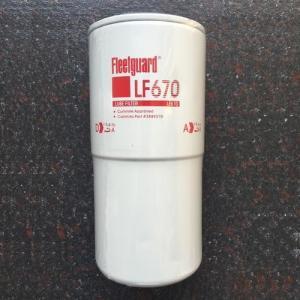 China 286mm Height Fleetguard NT855 Engine Oil Filter on sale