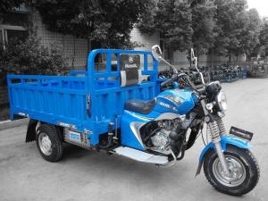 China Construction Site Use 3 Wheel Cargo Motorcycle , Electric Tricycle For Cargo on sale