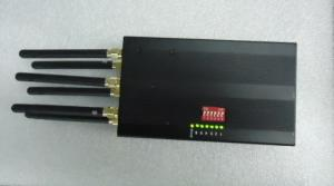 China 6 Antennas Portable GPS Signal Jammer ET-808HI For Custom , 1500 - 1600MHz on sale