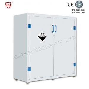 ... Quality Lab Solvent Plastic Double Door Chemical Storage Cabinet  Corrosive , 30 Gallon For Sale ...